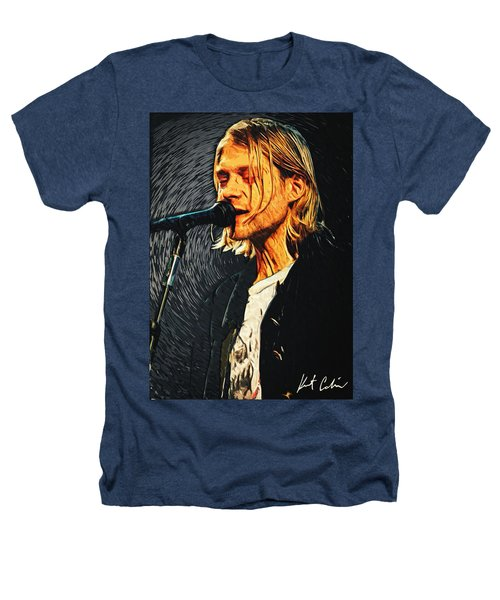 Kurt Cobain Heathers T-Shirt by Taylan Apukovska