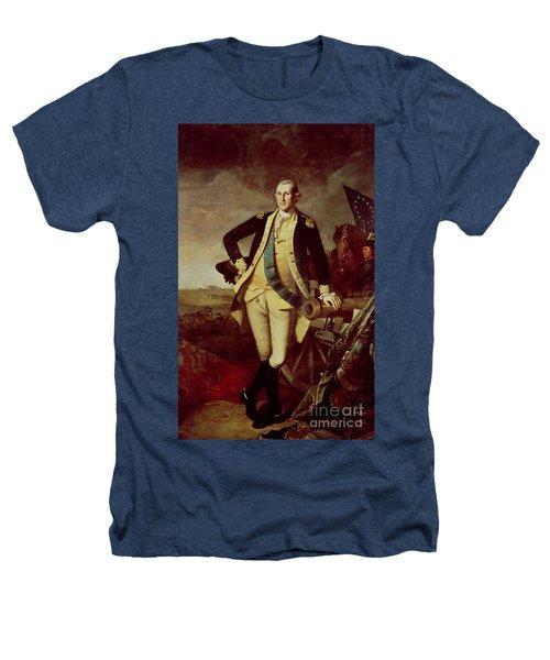 Portrait Of George Washington Heathers T-Shirt by Charles Willson Peale