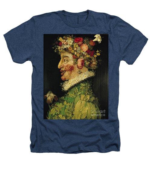 Spring Heathers T-Shirt by Giuseppe Arcimboldo