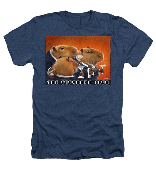 The Capybara Club Heathers T-Shirt by Will Bullas