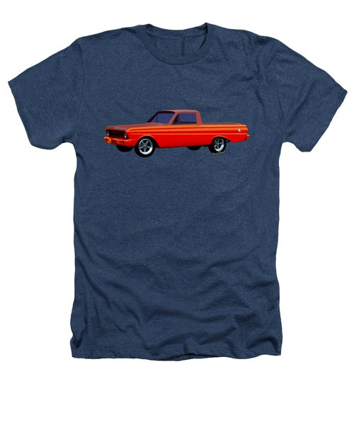 1965 Ford Falcon Ranchero Day At The Beach Heathers T-Shirt by Chas Sinklier