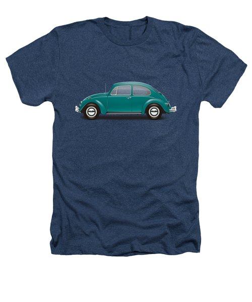 1967 Volkswagen Sedan - Java Green Heathers T-Shirt by Ed Jackson