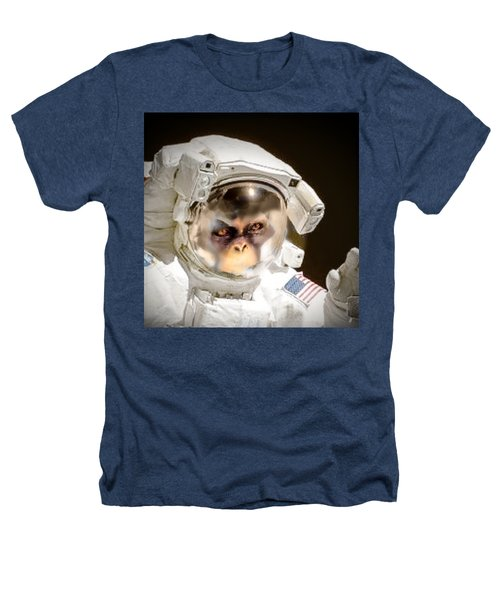 1st Into Space  Heathers T-Shirt by Scott French