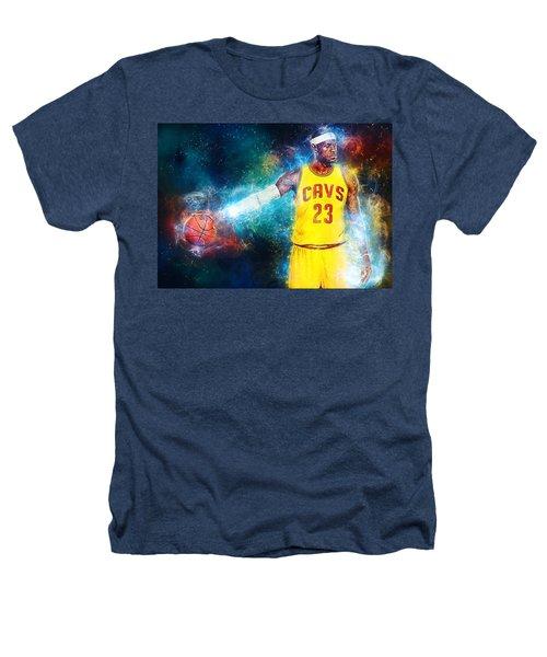 Lebron James Heathers T-Shirt by Taylan Apukovska