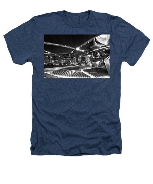 Millennium Park Heathers T-Shirt by Sebastian Musial