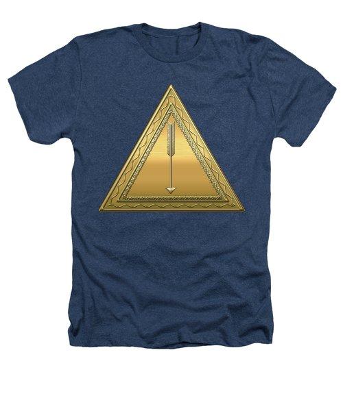 21st Degree Mason - Noachite Or Prussian Knight Masonic  Heathers T-Shirt by Serge Averbukh
