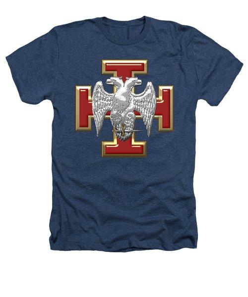 30th Degree Mason - Knight Kadosh Masonic Jewel  Heathers T-Shirt by Serge Averbukh