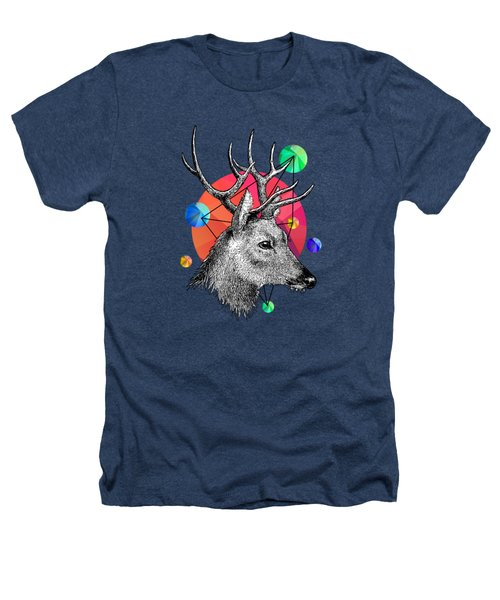 Deer Heathers T-Shirt by Mark Ashkenazi