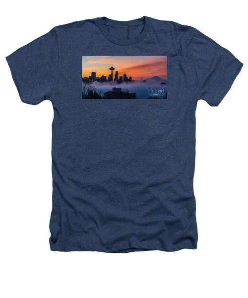 A City Emerges Heathers T-Shirt by Mike Reid