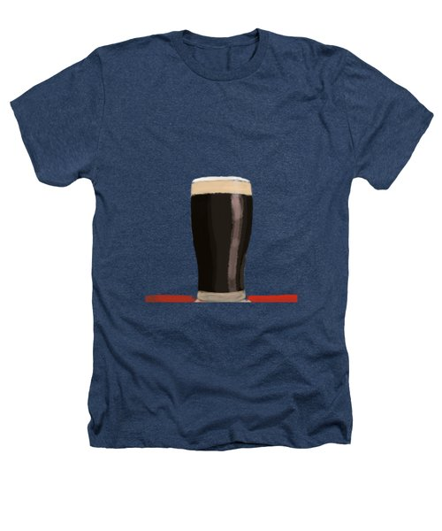 A Glass Of Stout Heathers T-Shirt by Keshava Shukla
