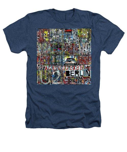 Achtung Baby Heathers T-Shirt by Frank Van Meurs