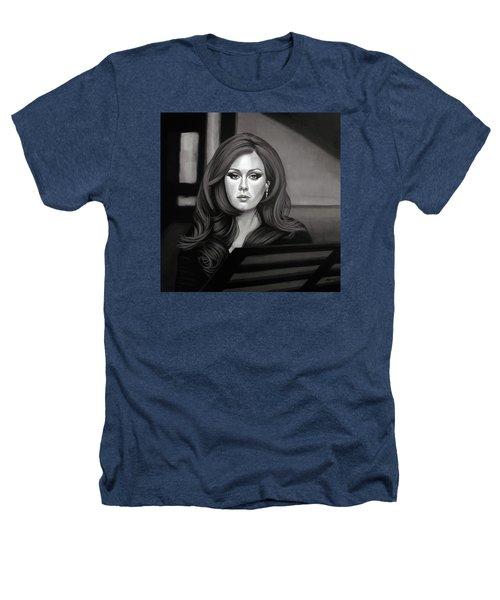 Adele Mixed Media Heathers T-Shirt by Paul Meijering