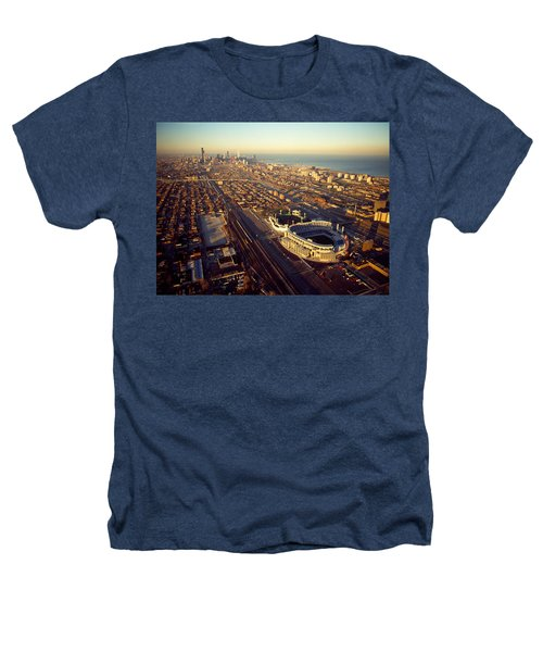 Aerial View Of A City, Old Comiskey Heathers T-Shirt by Panoramic Images
