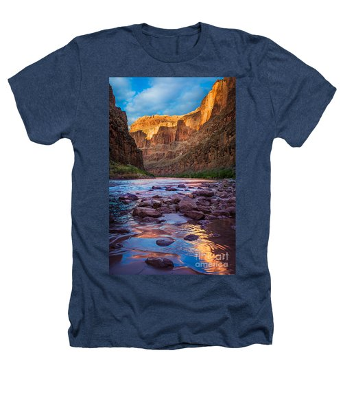 Ancient Shore Heathers T-Shirt by Inge Johnsson