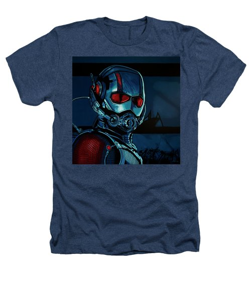 Ant Man Painting Heathers T-Shirt by Paul Meijering