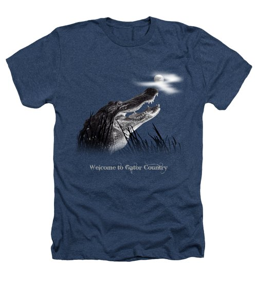 Gator Growl Heathers T-Shirt by Mark Andrew Thomas