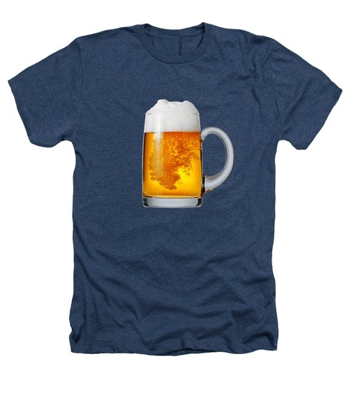 Glass Of Beer Heathers T-Shirt by T Shirts R Us -