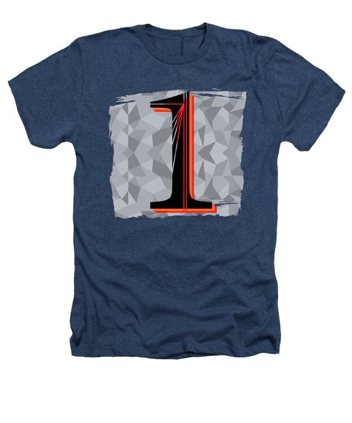 Number 1 One Heathers T-Shirt by Liesl Marelli
