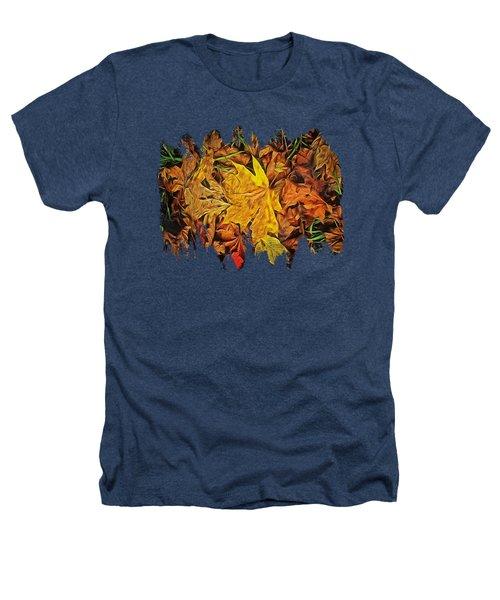 Autumn Leaves Of Beaver Creek Heathers T-Shirt by Thom Zehrfeld