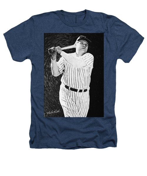 Babe Ruth Heathers T-Shirt by Taylan Soyturk