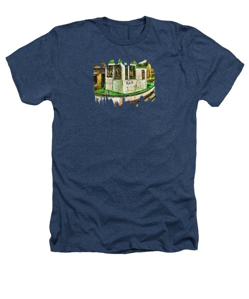 Beaver The Old Fishing Boat Heathers T-Shirt by Thom Zehrfeld