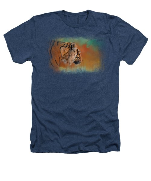 Bengal Energy Heathers T-Shirt by Jai Johnson