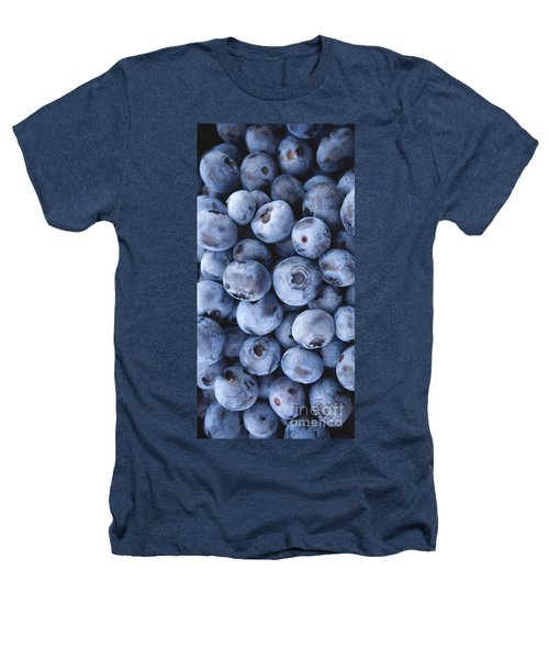 Blueberries Foodie Phone Case Heathers T-Shirt by Edward Fielding