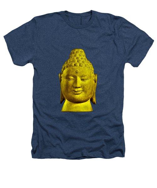 Borobudur Gold  Heathers T-Shirt by Terrell Kaucher