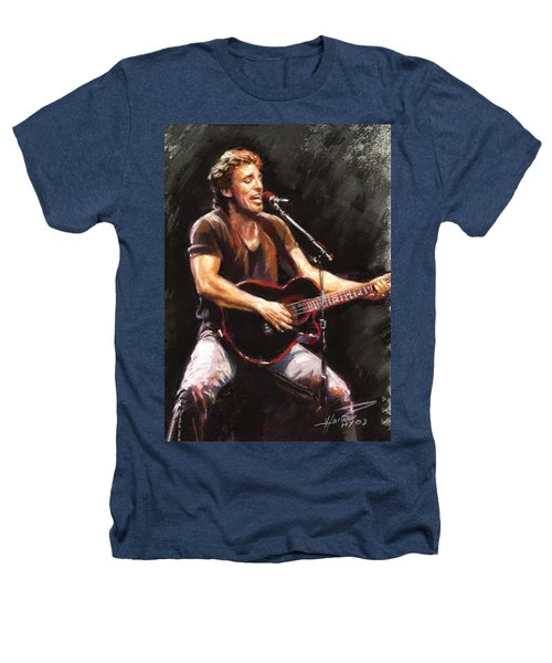 Bruce Springsteen  Heathers T-Shirt by Ylli Haruni