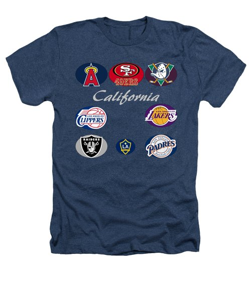 California Professional Sport Teams Collage  Heathers T-Shirt by Movie Poster Prints
