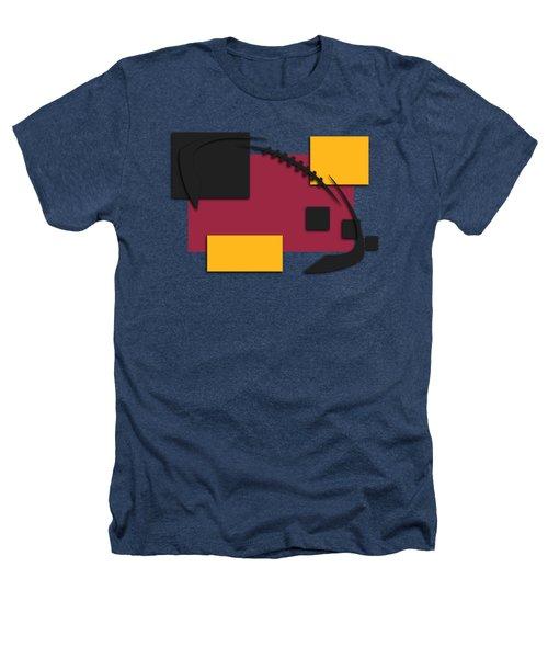 Cardinals Abstract Shirt Heathers T-Shirt by Joe Hamilton