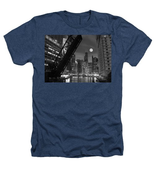 Chicago Pride Of Illinois Heathers T-Shirt by Frozen in Time Fine Art Photography