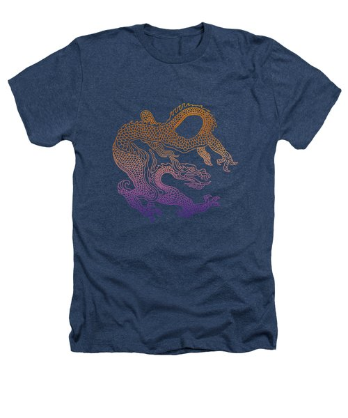 Chinese Dragon Heathers T-Shirt by Illustratorial Pulse