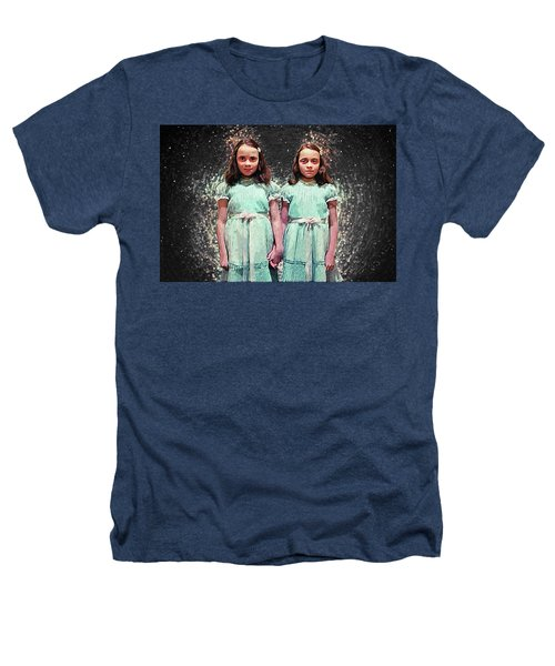 Come Play With Us - The Shining Twins Heathers T-Shirt by Taylan Apukovska