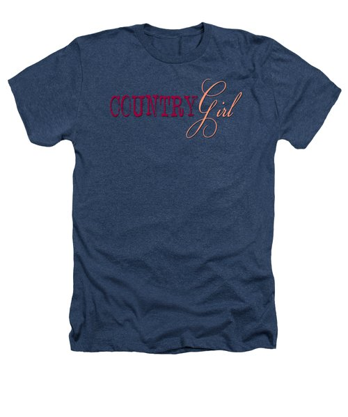 Country Girl Heathers T-Shirt by Liesl Marelli