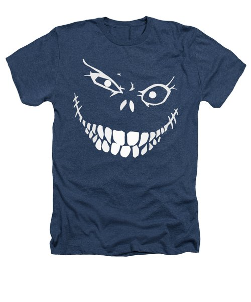 Crazy Monster Grin Heathers T-Shirt by Nicklas Gustafsson