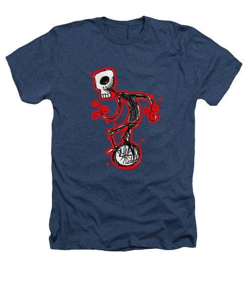 Cyclops On A Unicycle Heathers T-Shirt by Matt Mawson