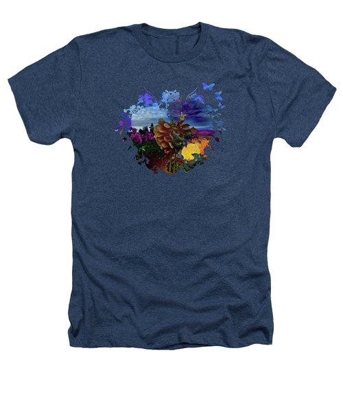 Dahlia Field Heathers T-Shirt by Thom Zehrfeld