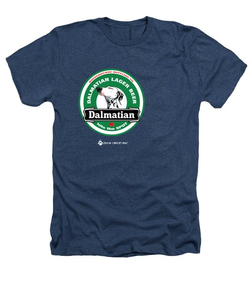 Dalmatian Lager Beer Heathers T-Shirt by John LaFree
