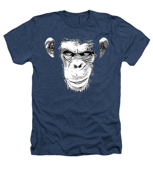 Evil Monkey Heathers T-Shirt by Nicklas Gustafsson
