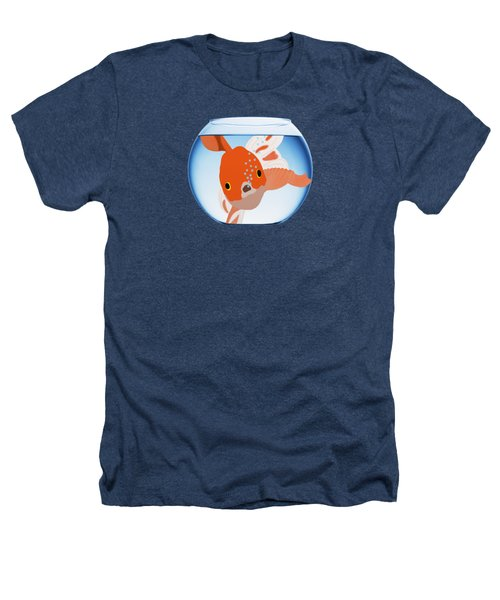Fishbowl Heathers T-Shirt by Priscilla Wolfe