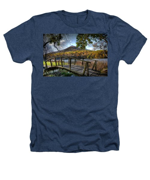 Foot Bridge Heathers T-Shirt by Todd Hostetter
