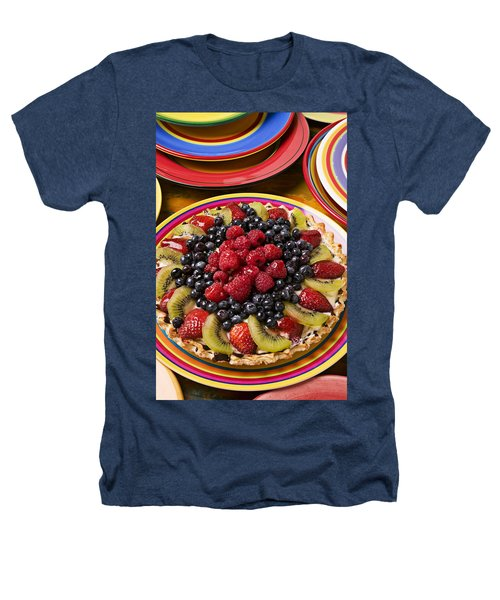 Fruit Tart Pie Heathers T-Shirt by Garry Gay