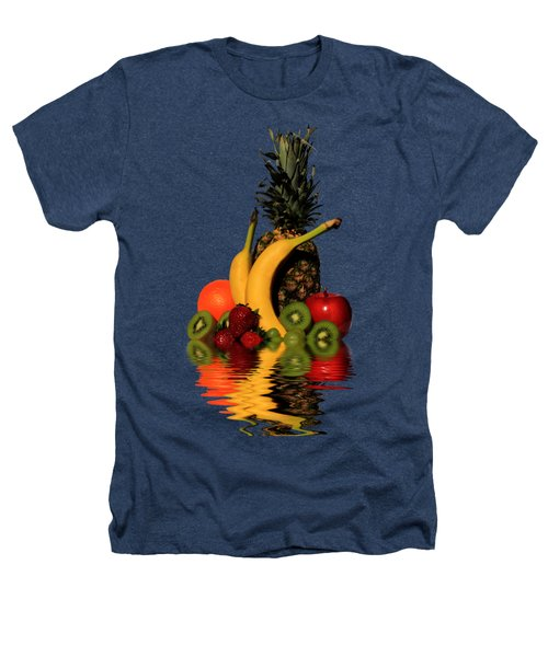 Fruity Reflections - Dark Heathers T-Shirt by Shane Bechler