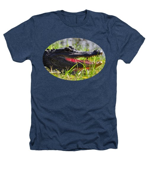 Gator Grin .png Heathers T-Shirt by Al Powell Photography USA