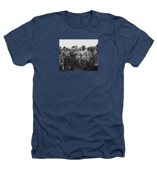 General Eisenhower On D-day  Heathers T-Shirt by War Is Hell Store