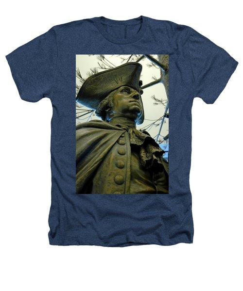 General George Washington Heathers T-Shirt by LeeAnn McLaneGoetz McLaneGoetzStudioLLCcom