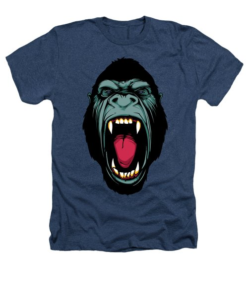 Gorilla Face Heathers T-Shirt by John D'Amelio