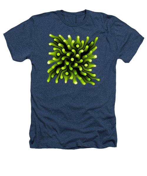 Green Sea Anemone Heathers T-Shirt by Anastasiya Malakhova