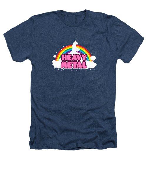 Heavy Metal Funny Unicorn  Rainbow Mosh Parody Design Heathers T-Shirt by Philipp Rietz